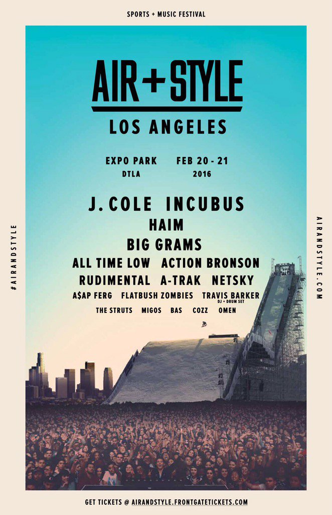 Announcement. Dreamville to perform at Air + Style Music Festival